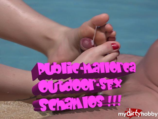 Public-Mallorca Outdoor Sex....SCHAMLOS