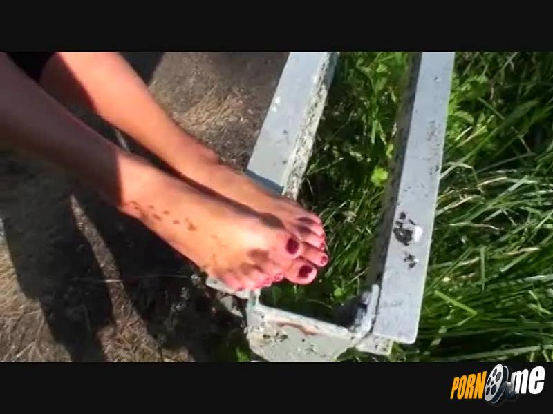 Sekt Füße