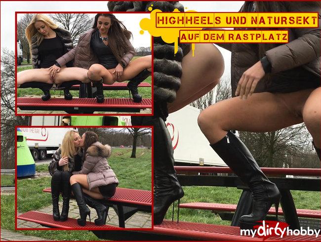 SEXY! HIGHHEELS & NATURSEKT auf der Autobahnraststätte