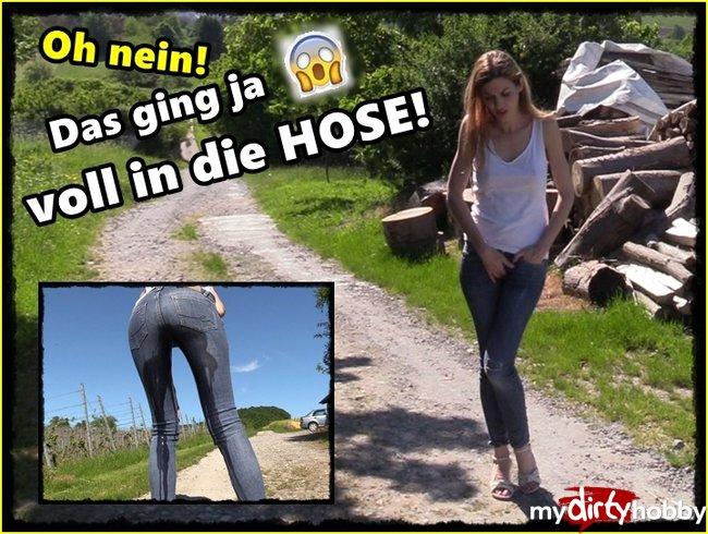 Natur Sekt in die Jeans