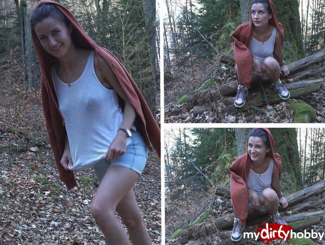 Pssst !!! In den Wald gepisst)))
