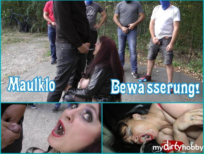 Best of! 3 Schwänze benutzen mein Maul als Pissklo!!